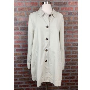 NWT Eileen Fisher Organic Cotton Canvas Jacket, M